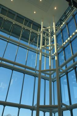 Steel Detail at North Atrium
