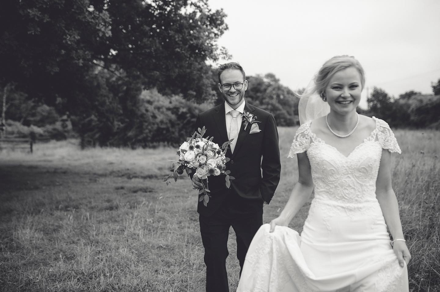 Norfolk Wedding Photographer black and white