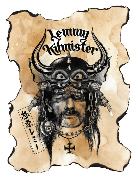 """Samurai Lemmy"", 2019"