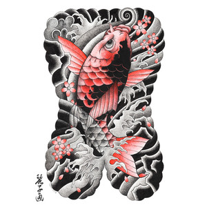 """Yakuza Back Tattoo"", 2016"