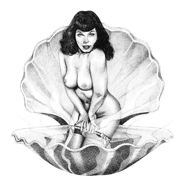 Commissioned artwork for a yoni steam salon