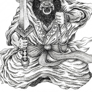 """Bullhead God (Gozu Tennou)"""