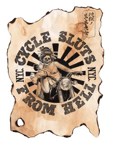 """""""Cycle Sluts From Hell Expedition"""", 2018"""