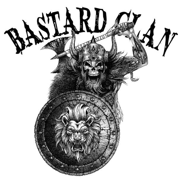 Commissioned Artwork for a Band (Bastard Clan)