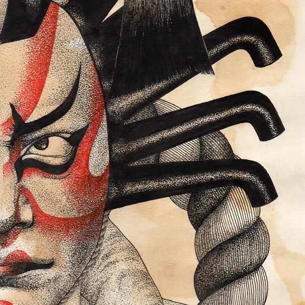 """""""Kabuki"""", 2017"""