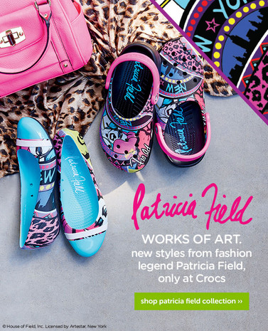CROCS by Patricia Field
