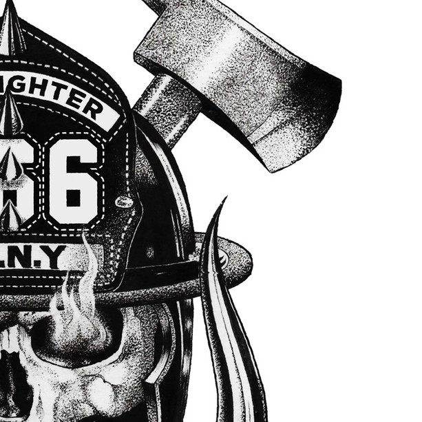 Commissioned Artwork for FDNY, 2018