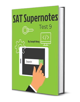 Test 9 SAT Super Notes
