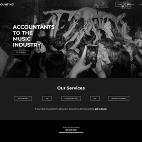 Music Tour Accounting - Case Study