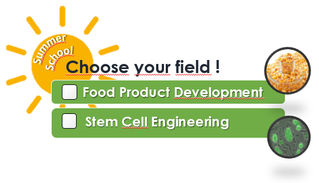 Sup'Biotech Summer Schools : Food Science and Stem Cell Engineering
