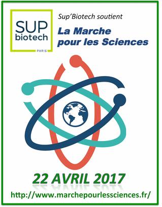 Sup'Biotech soutient la Marche pour les Sciences
