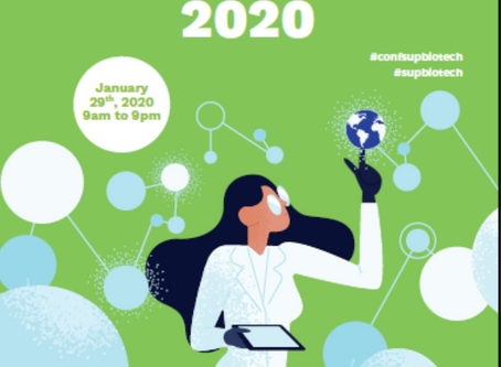 First Sup'Biotech International Symposium : 29 Jan 2020