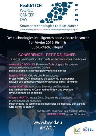 Séminaire 1er Février 2019: Technologies médicales en cancérologie