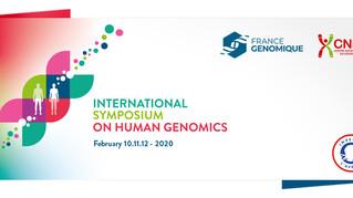 International Symposium on Human Genomics, Feb 10-12, 2020