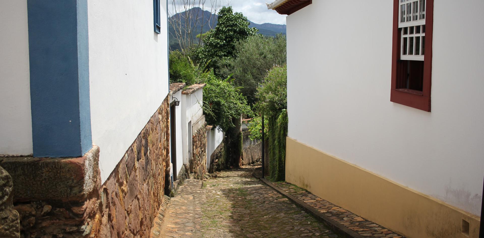 Beco em Tiradentes