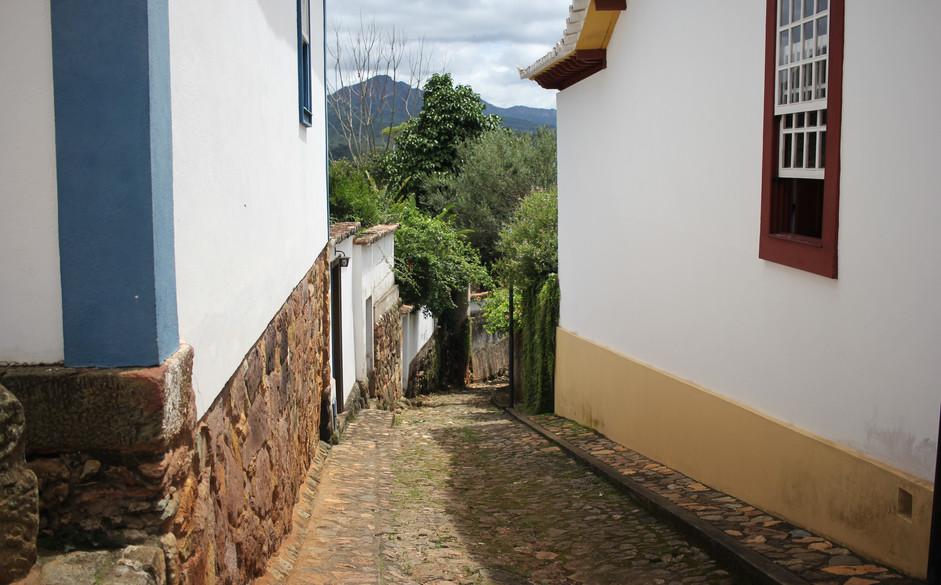 Beco em Tiradentes (MG)