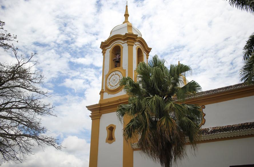 Torre da matriz em Tiradentes