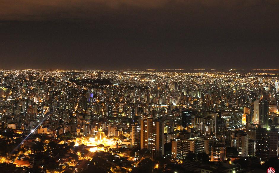Vista do mirante do Mangabeiras - Belo Horizonte (MG)