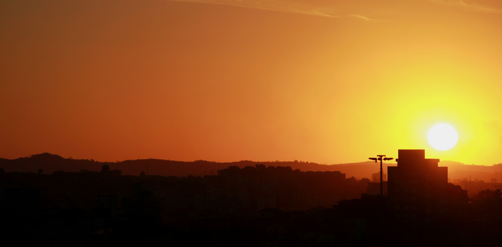 Pôr do sol em BH