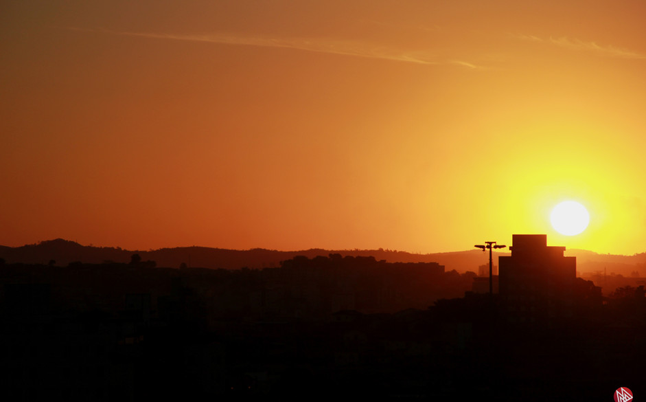 Pôr do sol - Belo Horizonte (MG)