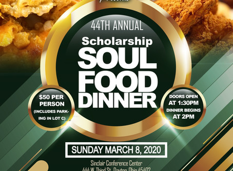 WUAA - Dayton Chapter presents 44th Annual Scholarship Soul Food Dinner