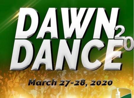 Dawn Dance 2020 Save The Date!