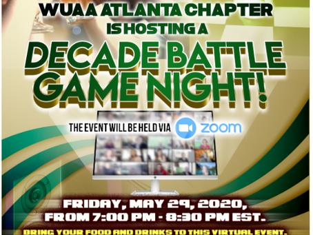 WUAA - Atlanta Chapter Game Night