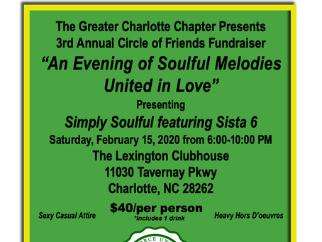 Greater Charlotte Chapter 3rd Annual Circle of Friends Fundraiser