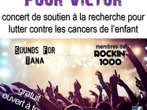 22/09/19 : un super concert pour la bonne cause, pour Victor