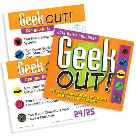 Geek Out Desktop Daily Calendars