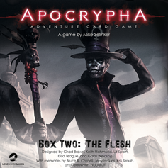 Apocrypha Adventure Card Game Box Two: The Flesh