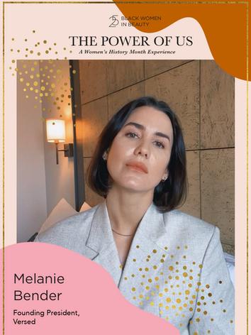 Melanie Bender