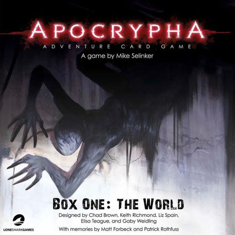 Apocrypha Adventure Card Game Box One: The World