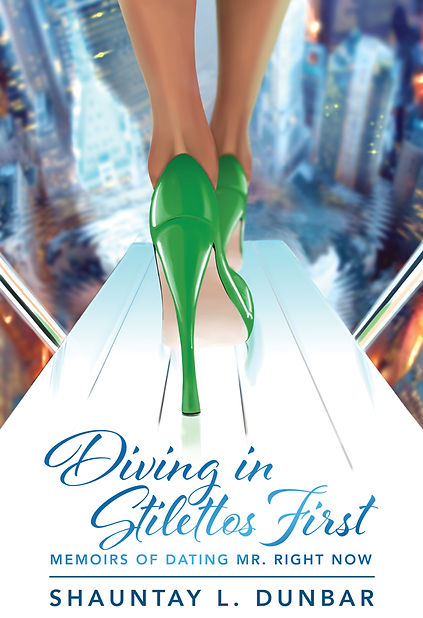 Diving In Stilettos First Book Cover