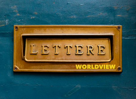 Peaking through the Letterbox (Worldview 12)