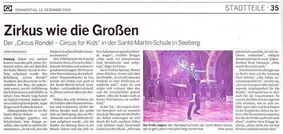 Artikel Kölnische Rundschau