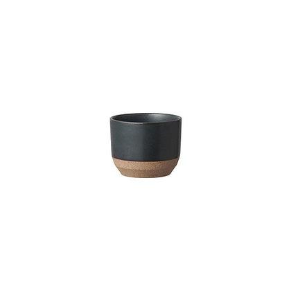 Tasse noire 180ml Ceramic Lab Kinto