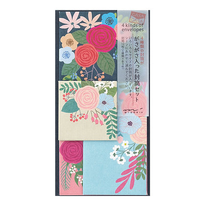 Enveloppe MIDORI casa, bouquet