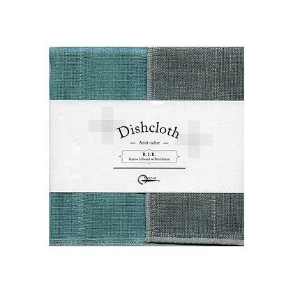 Torchon RIB Turquoise Dishcloth NAWRAP