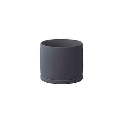 Plant Pot 105mm noir Kinto Japan