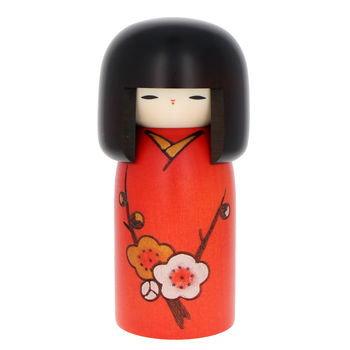 "Kokeshi ""poême des fleurs"" 15cm"