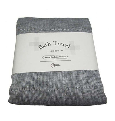 Serviette de bain Charcoal Bath Towel NAWRAP