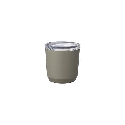 Gobelet hermétique 240ml khaki Kinto Japan