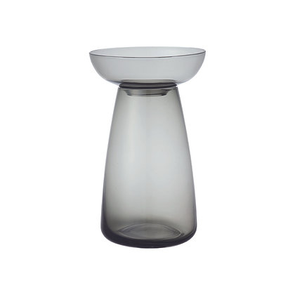 Vase Aquaculture Gris Grand Kinto