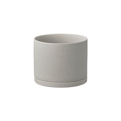 Plant Pot 135mm gris Kinto Japan