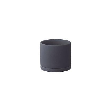 Plant Pot 85mm noir Kinto Japan