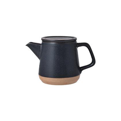 Théière 500ml noire Ceramic Lab Kinto
