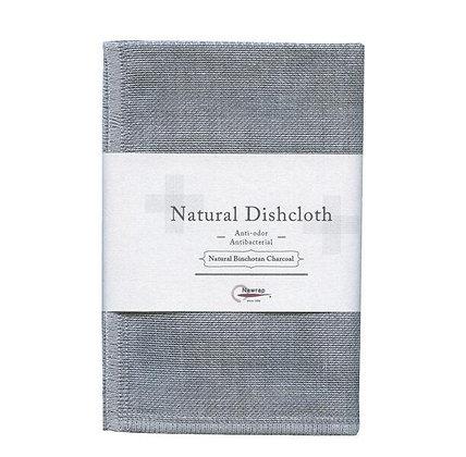 Torchon Natural Dishcloth Charcoal