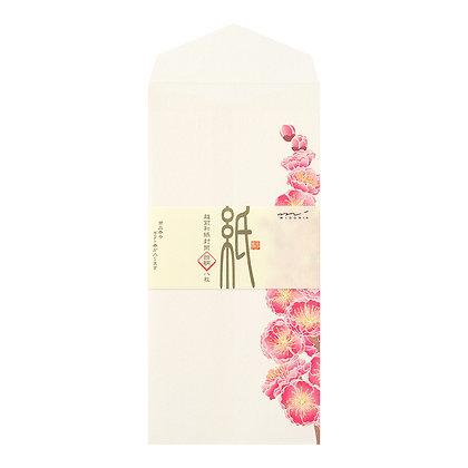Enveloppes Midori, fleurs d'hiver