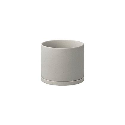 Plant Pot 105mm gris Kinto Japan